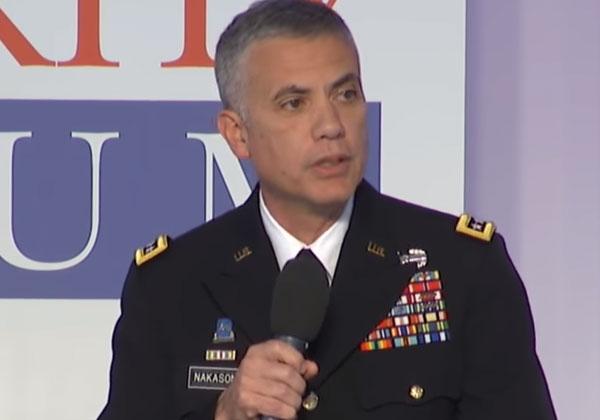גנרל פול נקסון, ראש ה-NSA ומפקד פיקוד הסייבר (סייברקום)/ צילום מסך: מתוך YouTube