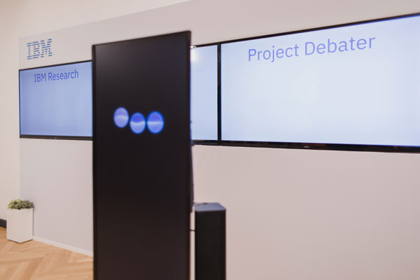 Project debater של יבם. צילום: אור קפלן