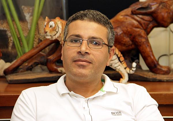 אברהים סאנע, יזם ומקים Sadeltech. צילום: יניב פאר