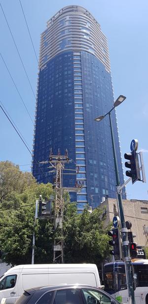 מגדל השחר, שבו נמצאים משרדיה של גספצ'ו. צילום: פלי הנמר