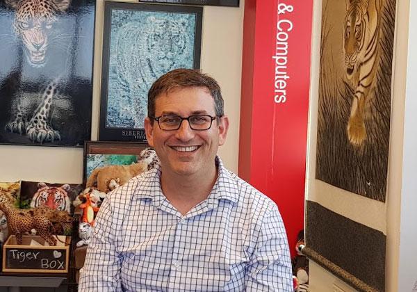 פרופ' ג'ו הלרשטיין, מייסד משותף ומנהל אסטרטגיה ראשי בטריפקטה. צילום: פלי הנמר
