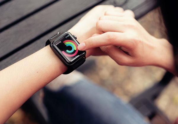 השעון של אפל. צילום: BigStock
