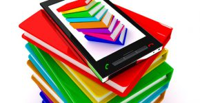 ספרים אלקטרוניים בנייד. צילום אילוסטרציה: BigStock