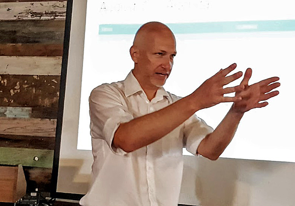 וולפגנג פאלווקה, מנהל מדפסות רחבות ב-HP לאזור CEE ולישראל. צילום: פלי הנמר