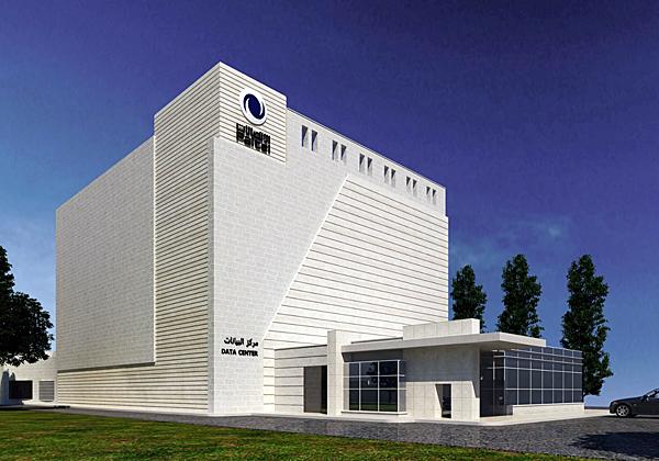 """הדטה סנטר החדש של פלטל ברמאללה - שהוקם בשיתוף ישראלי. צילום: יח""""צ"""