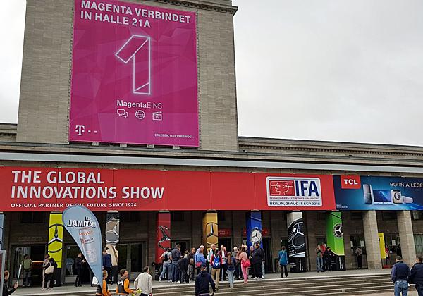 תערוכת IFA בברלין. צילום: פלי הנמר