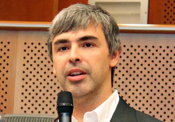 לארי פייג', ממייסדי גוגל ואלפבית. צילום: מתוך ויקיפדיה