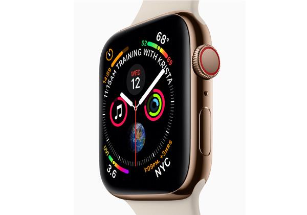 ה-Apple Watch גרסה 4. צילום: אתר אפל