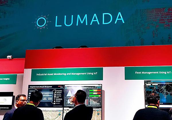 תצוגה חיה של Lumada ביישומים מבוססי אינטרנט של הדברים: ניהול ציי רכב ונכסים בקו הייצור. צילום: פלי הנמר