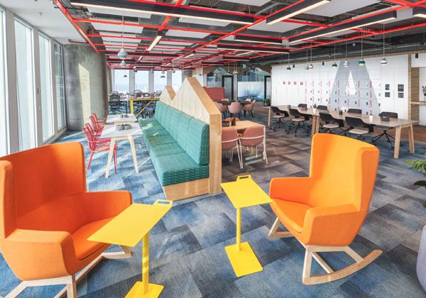 המשרדים החדשים של אמזון בתל אביב. צילום תומר פולטין