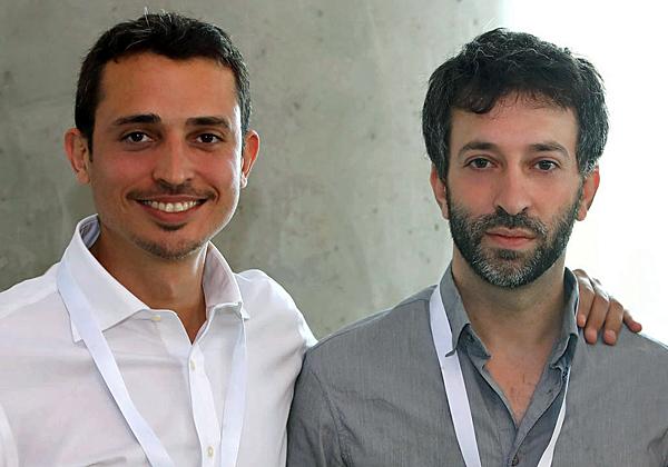 מימין: אביעד להב ומאור כהן, מייסדי קינדייט. צילום: אסקף אברהם