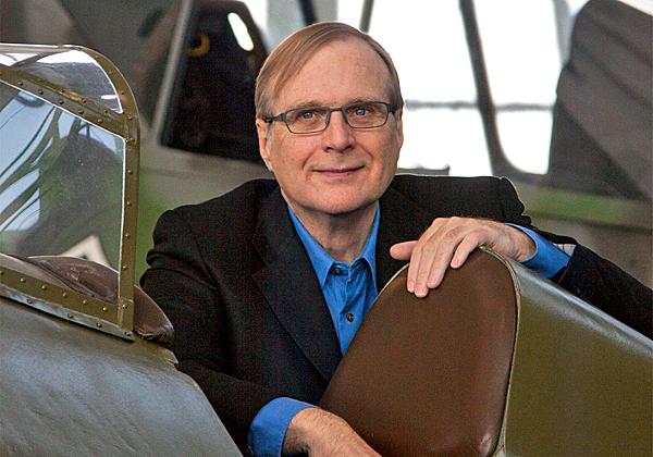 פול אלן, ממייסדי מיקרוסופט. צילום: מילס האריס, מתוך ויקיפדיה