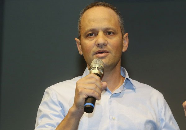 רון שפרינצק, סמנכ''ל מגזר עסקי במיקרוסופט ישראל. צילום: ניב קנטור