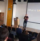 SAP ישראל הציגה בפני סטודנטים את טכנולוגיות העתיד בתחום ניהול ארגונים