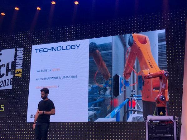 SkyLine Robotics, רובוטים לניקוי חלונות. צילום: רלי כהן