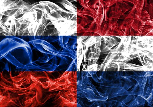 דגלי הולנד ורוסיה. צילום אילוסטרציה: BigStock
