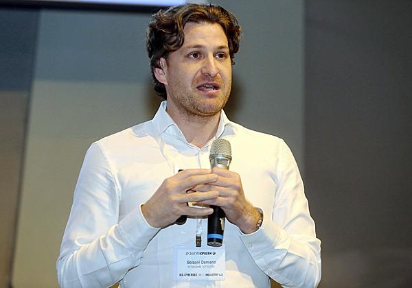 """ד""""ר דמיאן בולזוני, מנכ""""ל SecutiyMatters. צילום: ניב קנטור"""