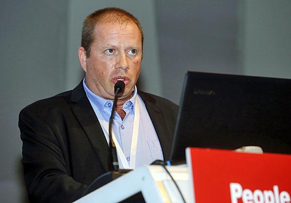 אלי גזית, מנהל בחטיבת תשתית המדינה הקריטית ברשות הלאומית להגנת הסייבר. צילום: ניב קנטור