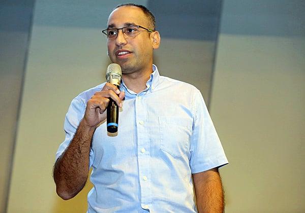 גיא נוי, מהנדס מערכות בפאלו אלטו. צילום: ניב קנטור