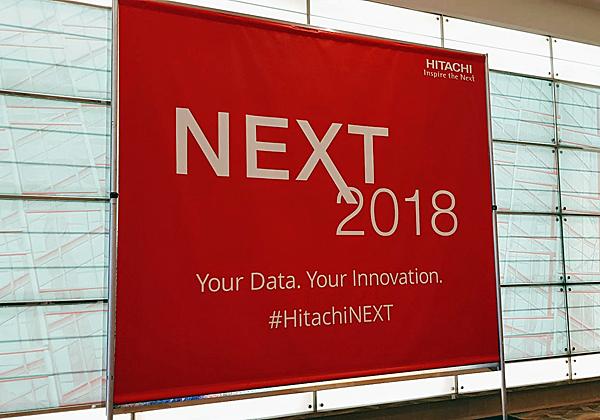 הרבה משתתפים, הרבה חדשנות. Next 2018 - הכנס השנתי של היטאצ'י ונטרה. צילום: פלי הנמר