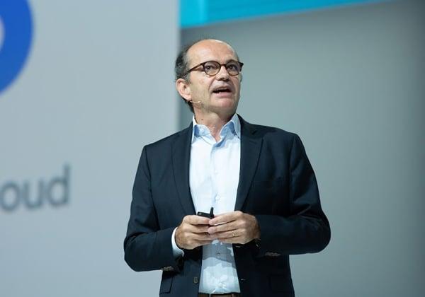 סבסטיאן מרוט, סגן נשיא ב-Google Cloud לאזור EMEA, צילום: Alive coverage