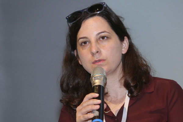 מאיה מיימון, ארכיטקטית סייבר ומאמנת חדשנות ב-NEC. צילום: ניב קנטור