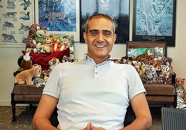 בני פלח, מנהל הפיתוח העסקי של דאנת תקשורת. צילום: פלי הנמר