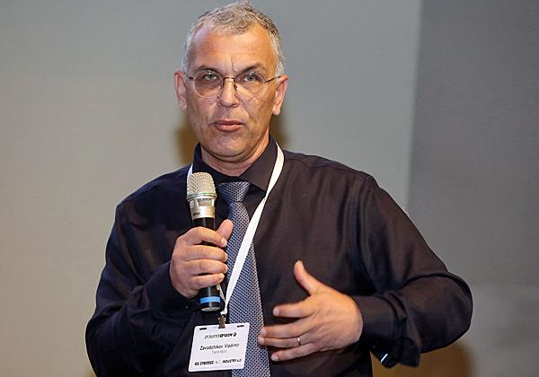 ולדימיר זאוודצ'יוב, מהנדס מכירות בכיר בטרנד מיקרו. צילום: ניב קנטור