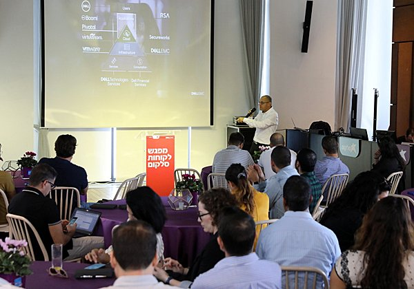 כפיר אלפנדרי, מנהל מגזר ה-Mid Market ב-Dell-EMC. צילום: סיון פרג'
