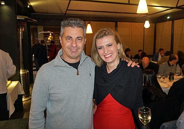 מימין: כריסטינה טנססקו, מנהלת אזורית של ארגון השותפים באזור + MEE ב-VMware, ואלון סלע, מנהל שותפים בחברה. צילום: פלי הנמר