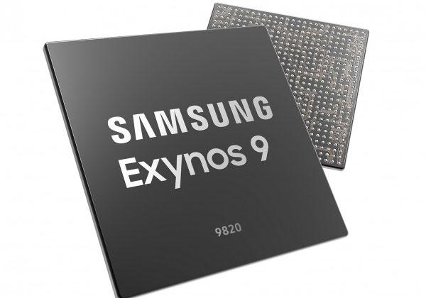 """בקרוב מתקדמים ל-7 ננו-מטר. המערכת על שבב הקודמת של סמסונג. Exynos 9820. צילום: יח""""צ"""