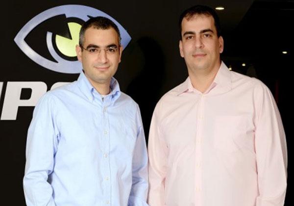 מימין לשמאל - פרופסור שי מנור ואודי דנינו מנכל SAIPS - קרדיט צילום רן בירן