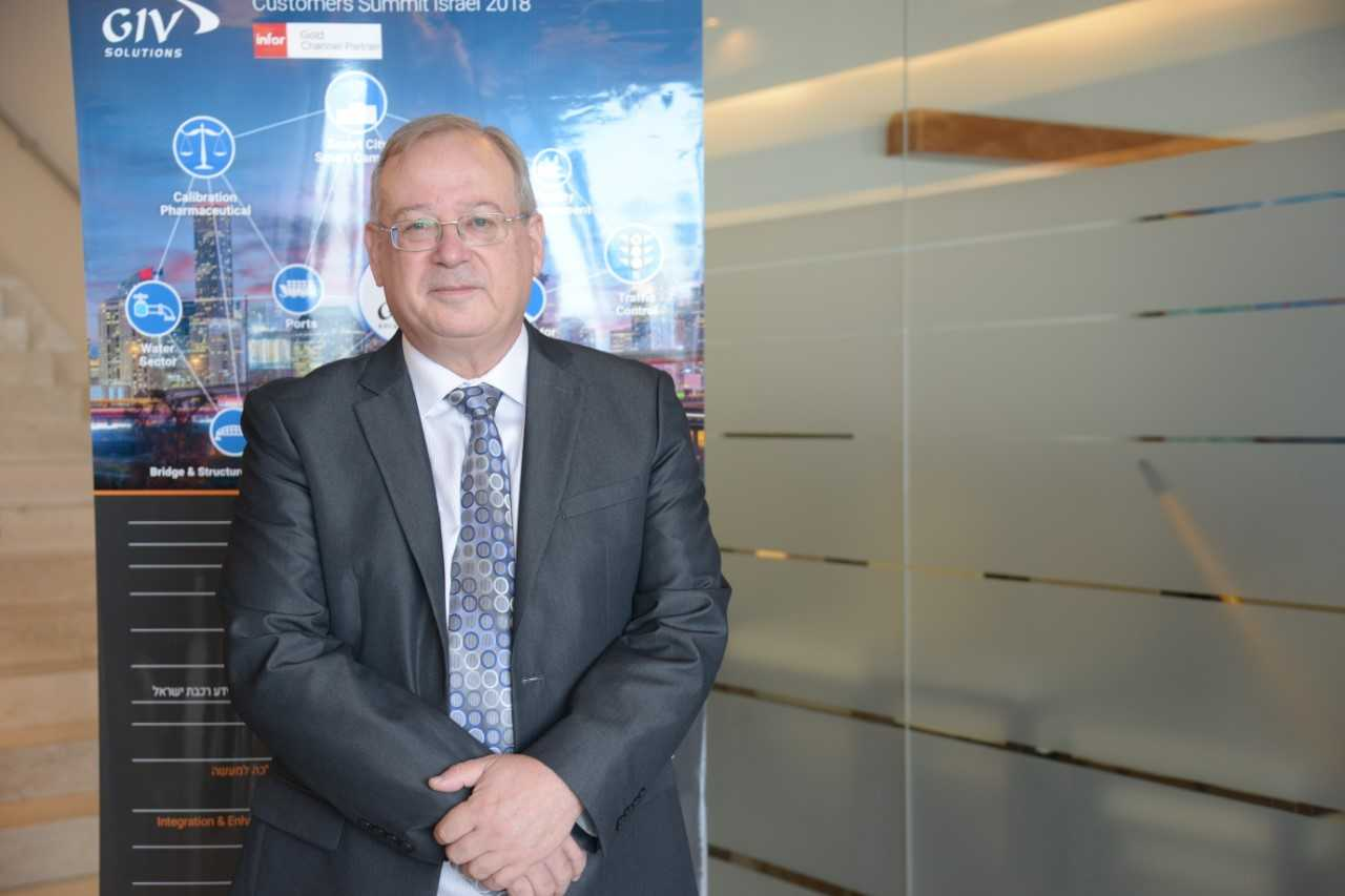 """מאיר גבעון, מייסד ומנכ""""ל GIV Solutions. צילום: ליאת מנדל"""