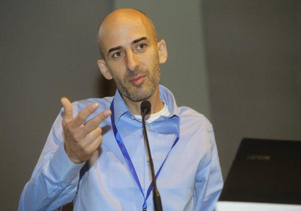 פתח קוריאל, מנהל תחום דיפלומטיה דיגיטלית במשרד החוץ. צילום: ניב קנטור
