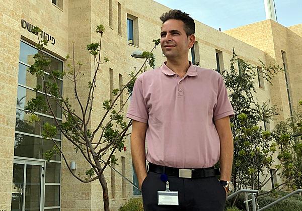 """לירון טרן, סמנכ""""ל הטכנולוגיות של טלדור בפוליסיטי וראש אגף מערכות המידע של המכללה הלאומית לשוטרים. צילום: מיכאל אפריאט"""