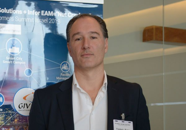 פרדריק רוסו, סגן נשיא ל-EAM באזור EMEA באינפור. צילום:ליאת מנדל