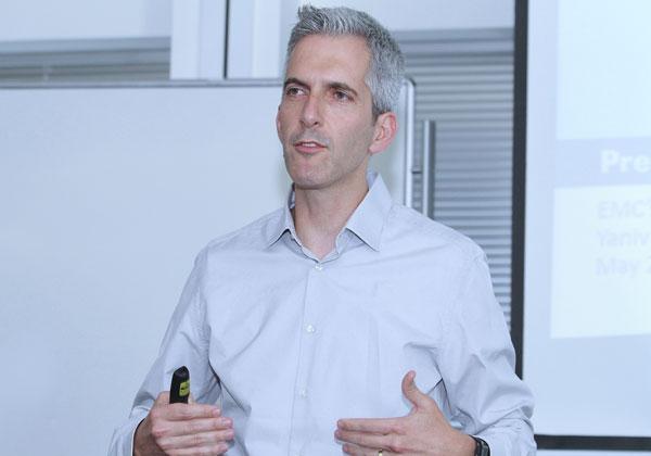 ד''ר יניב הראל, מנהל קבוצת פתרונות הסייבר ב-Dell EMC. צילום: ניב קנטור