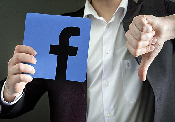 Facebookdown#. צילום אילוסטרציה: BigStock