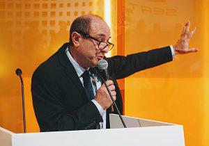סרג'יו ויניצקי, נציג הכנס והתערוכה Smart Cities בישראל. צילום: פלי הנמר
