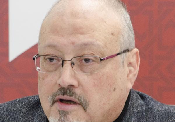 העיתונאי הסעודי ג'מאל חשוקג'י. צילום: April Brady / POMED, מתוך ויקיפדיה