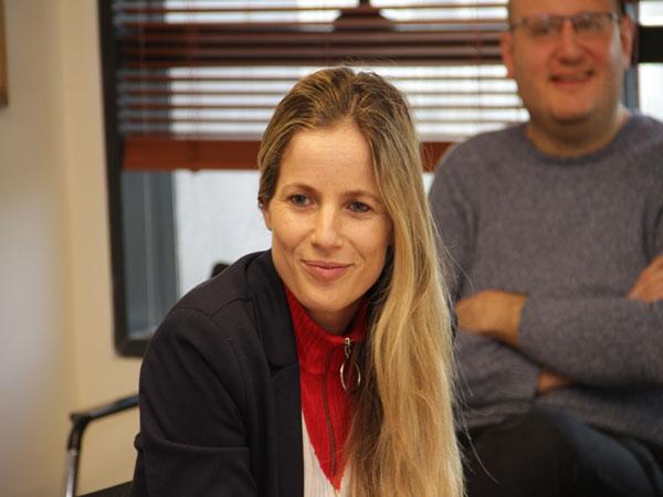 """איילת קרסו, מייסSת ומנכ""""לית הסטארט-אפ ג'יני. צילום: יניב פאר"""