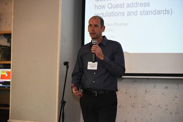 גיל באומל, מנהל הפעילות העסקית של קווסט (Quest) בישראל