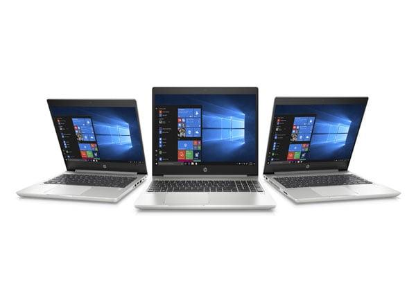 """מחשבי סדרת ה-ProBook 400 של HO. צילום: יח""""צ"""