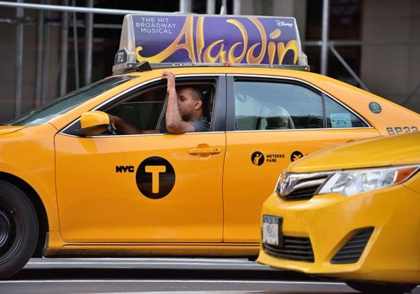 נהג מונית בניו-יורק. צילום: BigStock