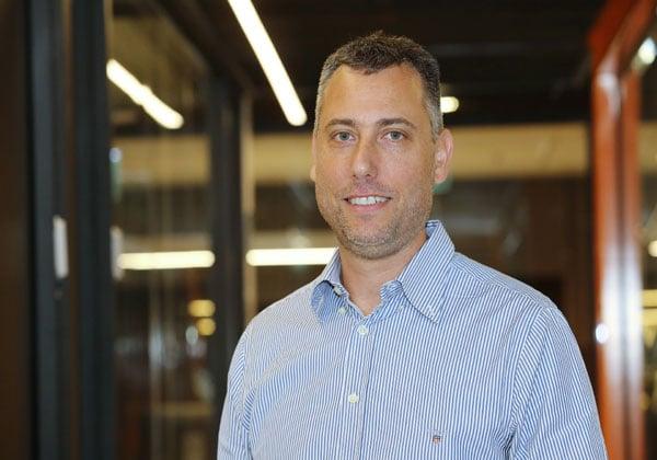 """טל טיקוצקי, סמנכ""""ל ההנדסה ומנהל מרכז הפיתוח המקומי בObserveIT. צילום: ניב קנטור"""