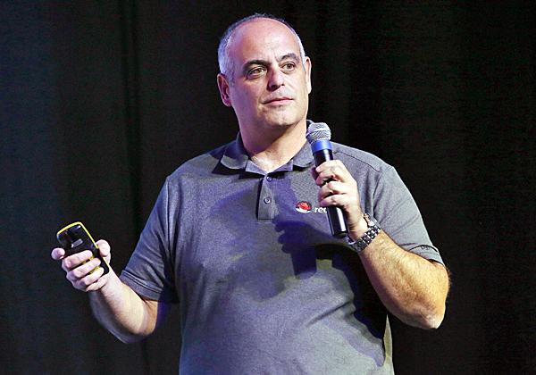 אמיר ציפורי, מנהל פתרונות בכיר ברד-האט. צילום: ניב קנטור