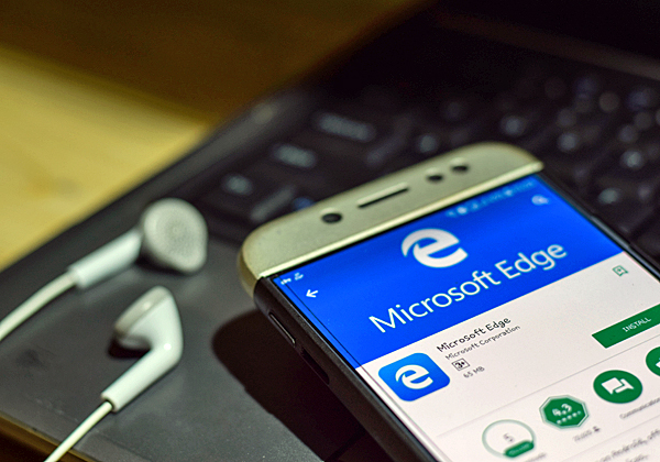 Microsoft Edge. צילום: BigStock