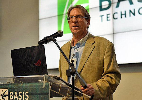 דיוויד ליטוב, מנהל פעילות Basis Technology בישראל. צילום: ג'ני קלינקובשטיין