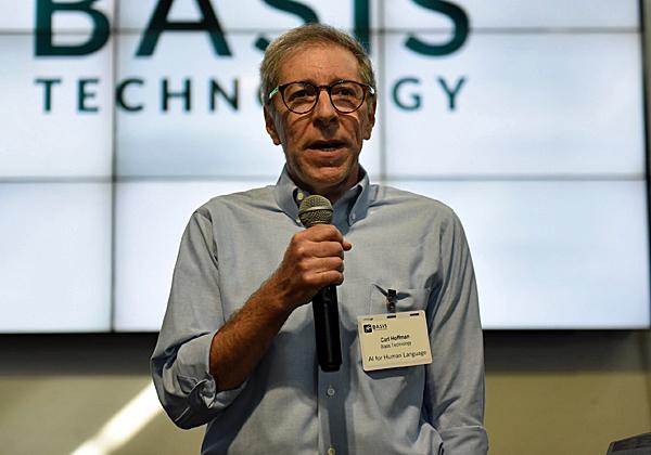 קארל הופמן, מנכ''ל Basis Technology. צילום: ג'ני קלינקובשטיין