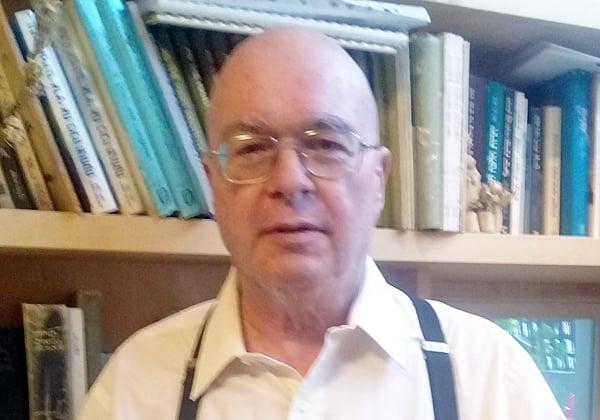אוד גונדר, עיתונאי, איש היי-טק ויזם ותיק, ומחבר הספר דג ברשת. צילום עצמי